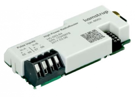 High Power Radio Router module for MULTICAL® 603